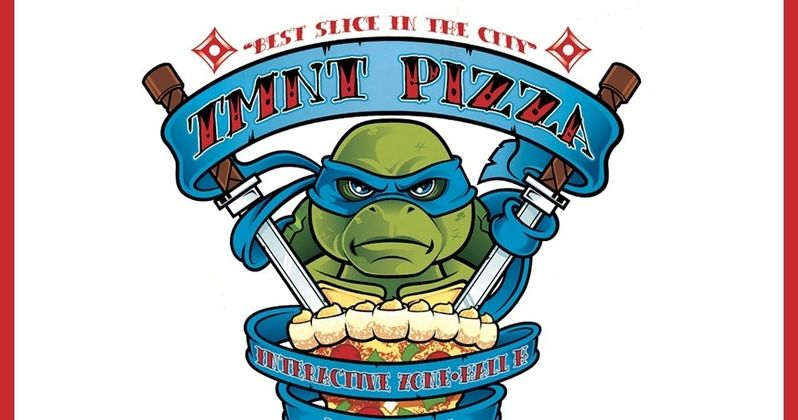 Comic-Con: Teenage Mutant Ninja Turtles Pizza Box Promo Art