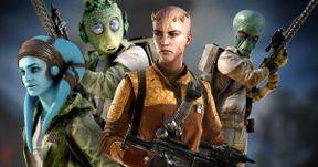 Star Wars 8 Set Photos Show New Aliens, Space Horse & Landspeeder Crash