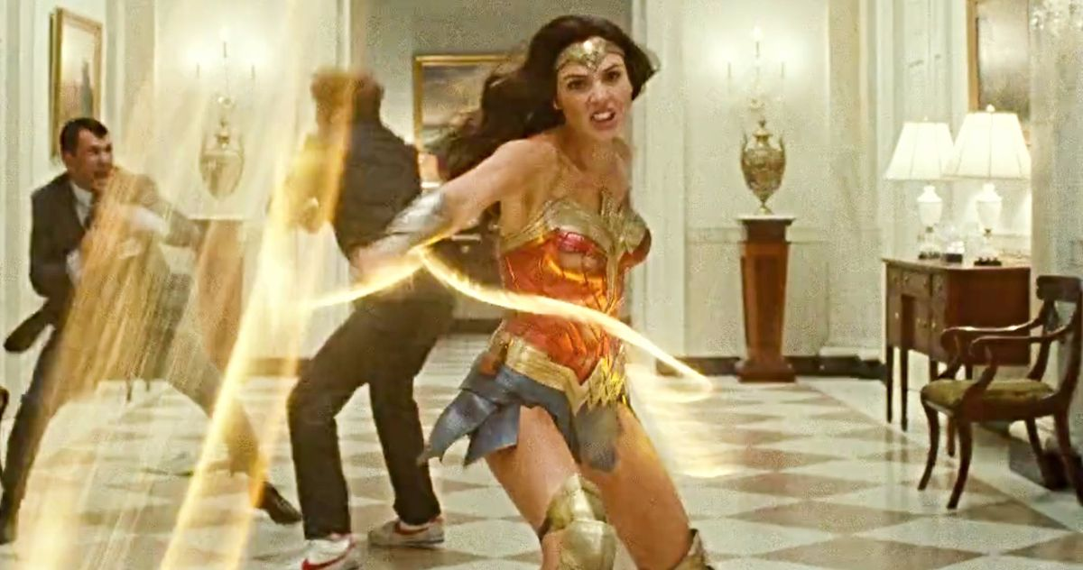 First Wonder Woman 1984 Footage Arrives from