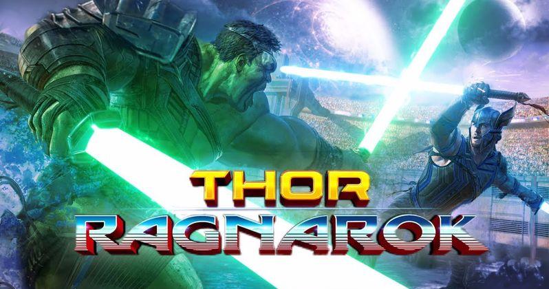 Ragnarok Fan-Edit Gives Thor & Hulk Lightsabers for the Ultimate Fight