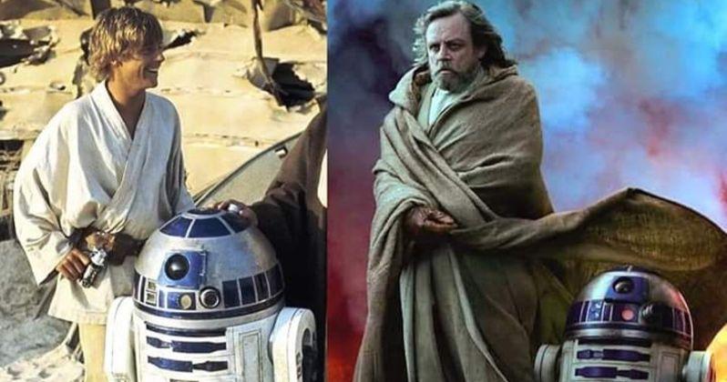 Mark Hamill Pokes Fun At Rise Of Skywalker Vanity Fair Shoot Is Luke Growing Movier