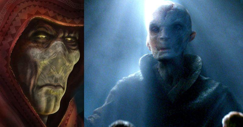 Andy Serkis Denies Snoke Is Darth Plagueis in Star Wars: The Force Awakens