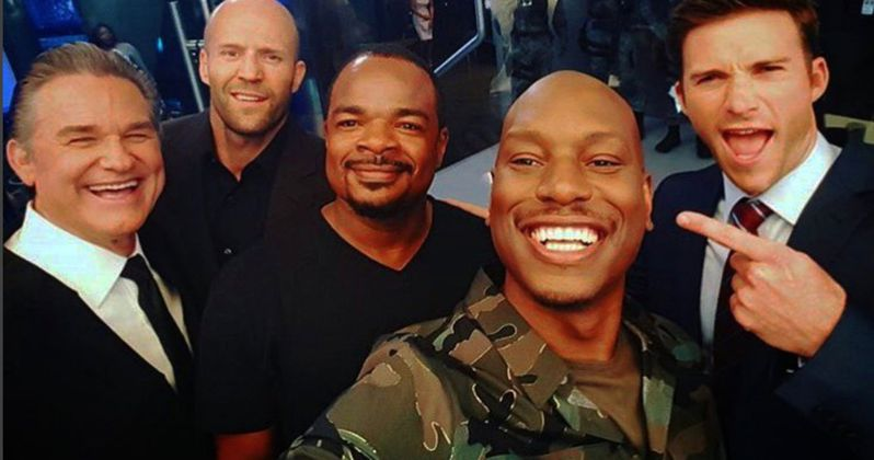 Latest Fast & Furious 8 Set Video Reunites Dom's Crew