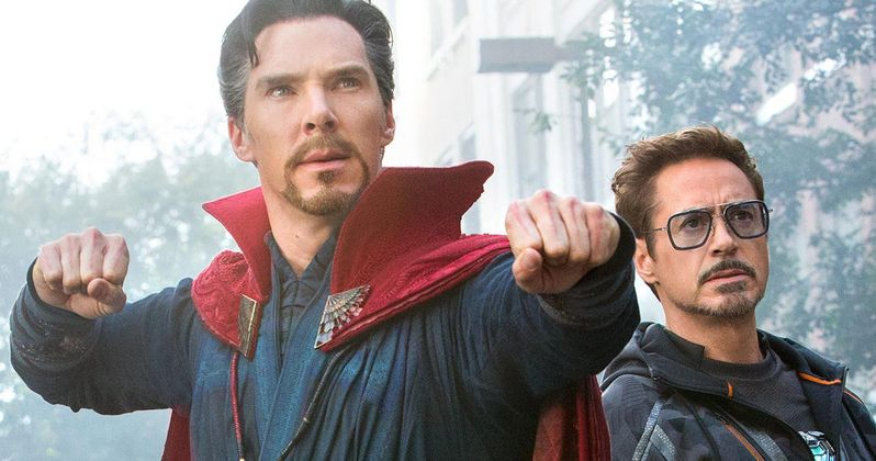 Benedict Cumberbatch Broke a Big Marvel Rule on Infinity War Set