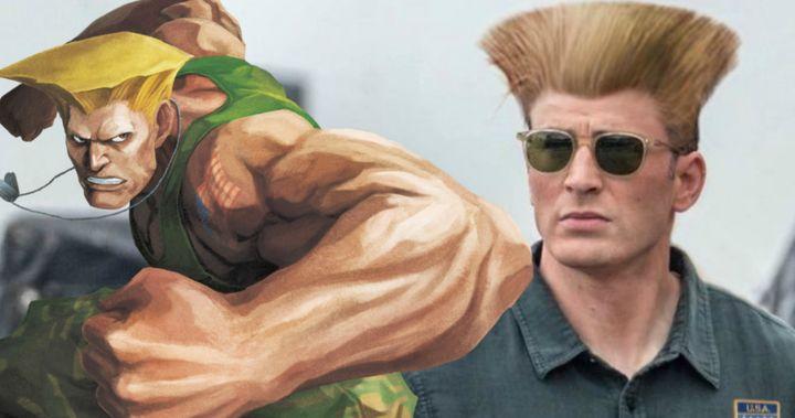 Street Fighter Reboot Fan Art Turns Chris Evans Into Guile