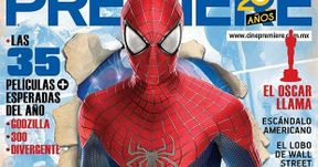The Amazing Spider-Man 2 Cine Premiere Magazine Cover