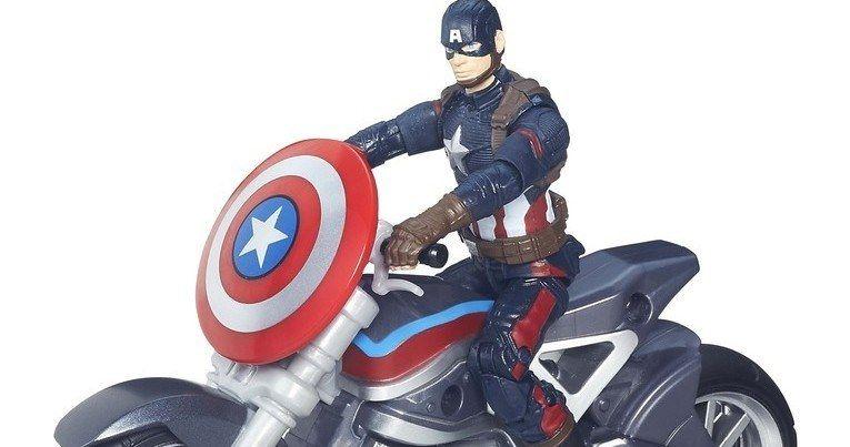 Captain America: Civil War Hasbro Toys Unveiled