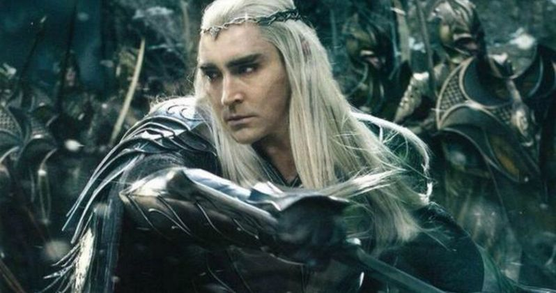 Hobbit: Battle of the Five Armies Thranduil Character Poster