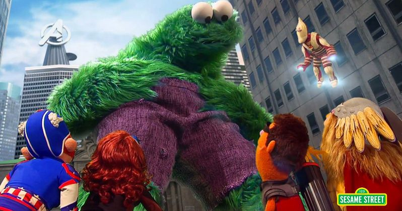 Avengers 2 Spoofed in Sesame Street Parody Video