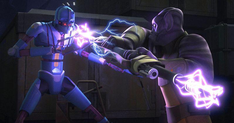 Star Wars Rebels Episode 3.12 Recap: Warhead Threatens Chopper Base
