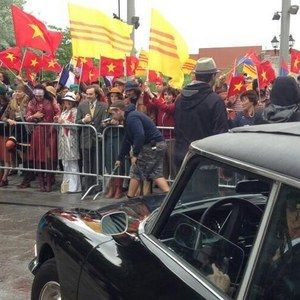 A Vietnam War Protest Breaks Out on X-Men: Days of Future Past Set