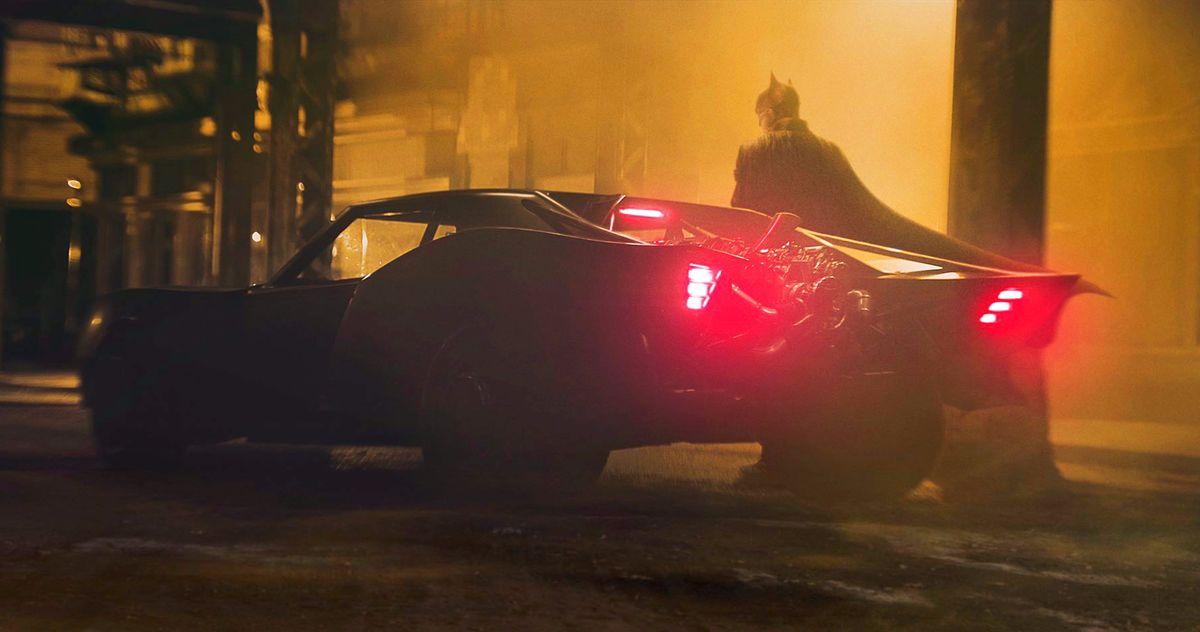 The Batman Batmobile Officially Revealed