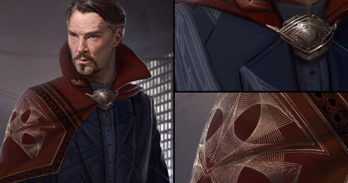 Doctor Strange Gets a Much Fancier Cloak of Levitation in Marvel Concept Art