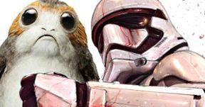 Porg Backlash Intensifies with Disturbing Star Wars 8 Fan Poster
