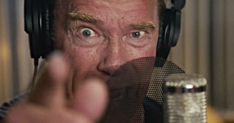 Schwarzenegger Raps in Motivational Music Video That Will ...