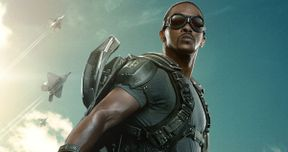 Captain America: Winter Soldier Falcon Character Poster