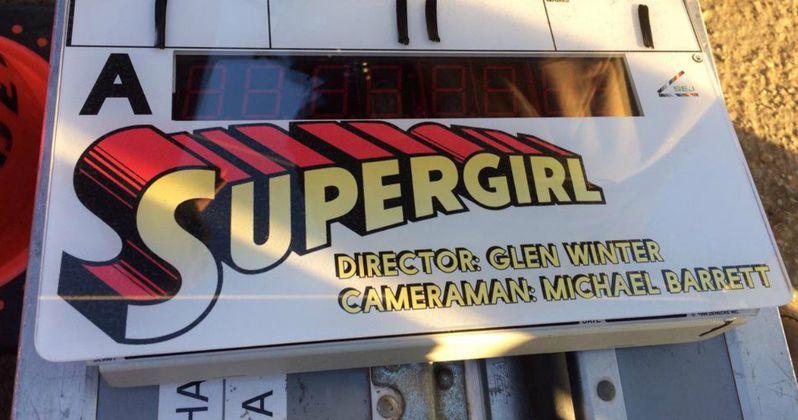 Supergirl TV Pilot Begins Shooting, Set Photos Released
