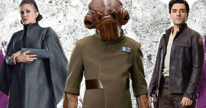 Admiral Ackbar Returns in Latest Peek at Star Wars 8