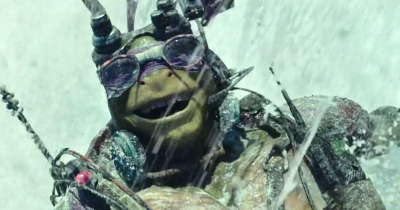 Michelangelo and Donatello Teenage Mutant Ninja Turtles TV Spots
