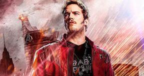 Chris Pratt Defends Star-Lord's Infinity War Reaction