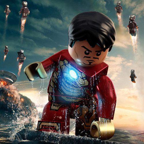 Iron Man 3 LEGO Posters