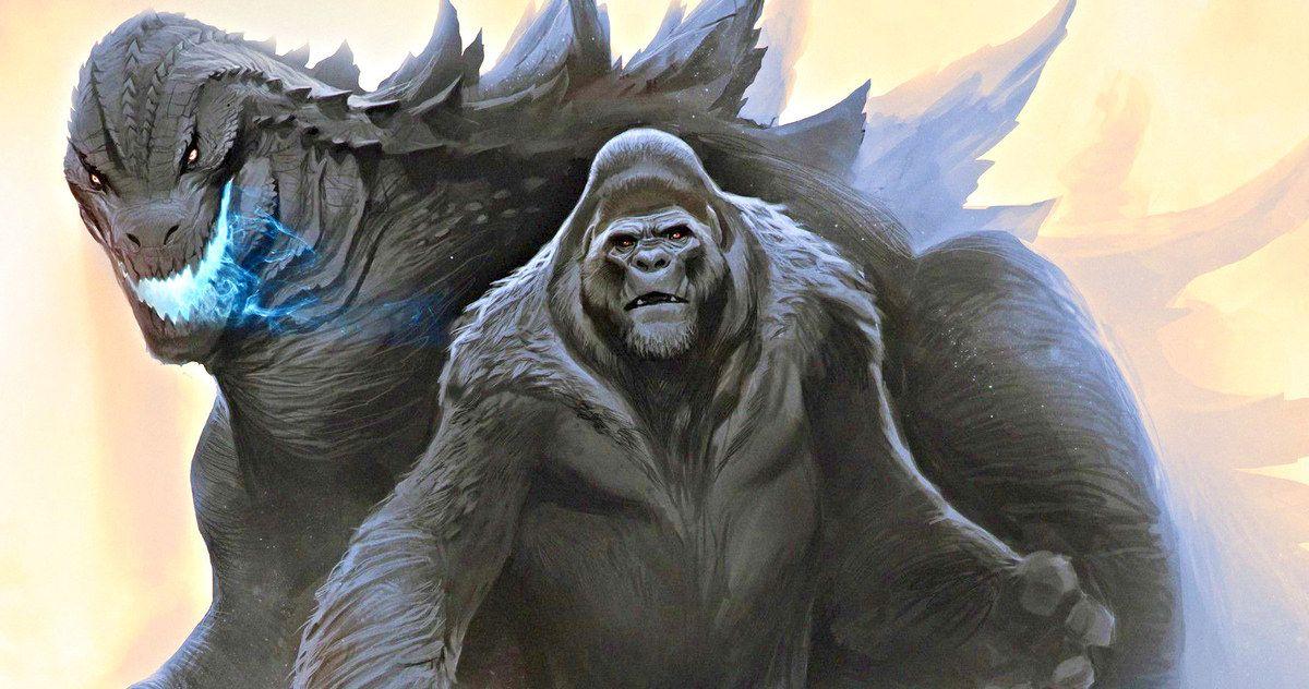 Godzilla Vs  Kong Begins Shooting