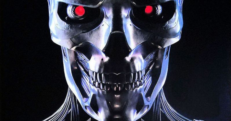 Dark Fate Comic-Con Poster Rips the Skin Off New Terminator Endoskeleton