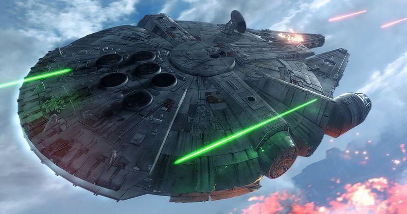 Star Wars Battlefront Trailer Puts You Inside the Millennium Falcon