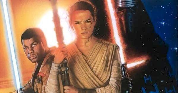 Drew Struzan Star Wars: The Force Awakens Poster Unleashed