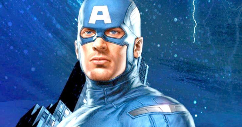 Captain America 3 Costume Revealed in Civil War Art