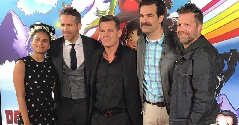 Peter and X-Force Show Up at Deadpool 2 Premiere