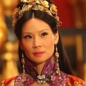 The Man with the Iron Fists Photo with Lucy Liu as Madame Blossom