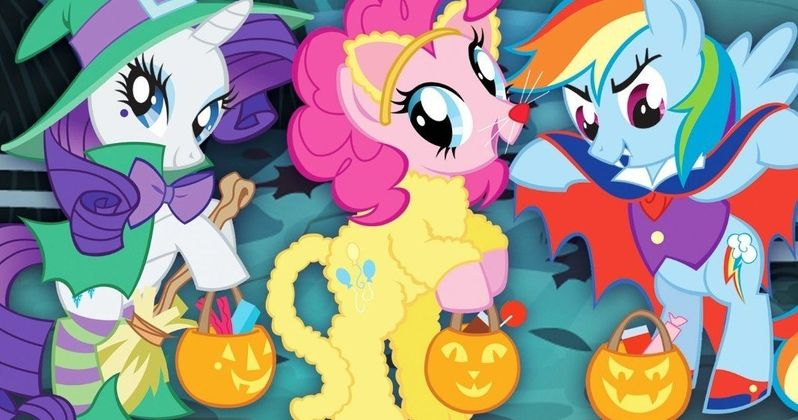 My Little Pony: Friendship Is Magic - Spooktacular Tales DVD Debuts September 9th