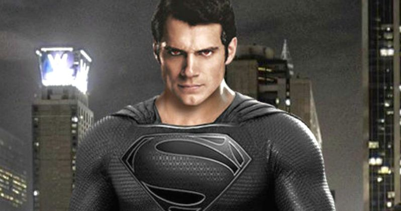 Justice League Star Henry Cavill Teases Black Superman Suit