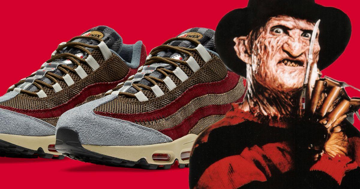New Freddy Krueger Nike Sneakers Will