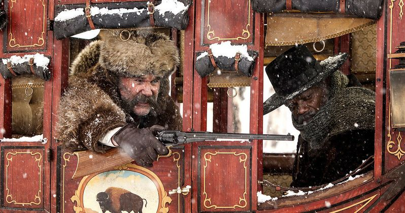 Hateful Eight Photo Has Kurt Russell & Sam Jackson Hitching a Ride