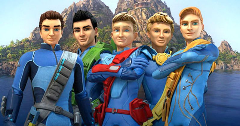 Thunderbirds Are Go! Image Reveals the Tracey Brothers