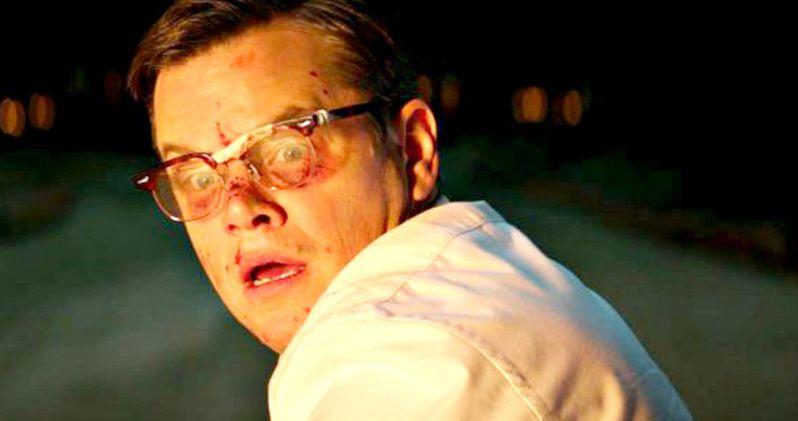 George Clooney's Suburbicon Trailer Has Matt Damon Covered in Blood