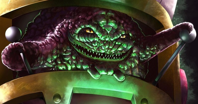 Krang and the Technodrome Revealed in Ninja Turtles 2 Toy Photos