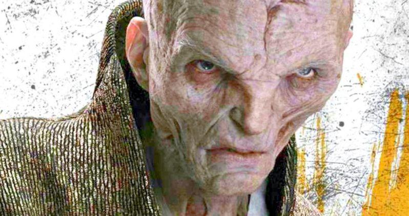 Star Wars 8 Toy Has Fans Questioning Snoke's Gender Identity