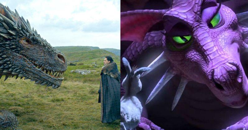 Did Game of Thrones Drogon Meets Jon Snow Scene Rip-Off Shrek?