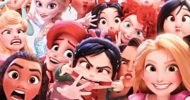 Wreck-It Ralph 2 Preview Parties with Disney Princesses & Gal Gadot's Shank