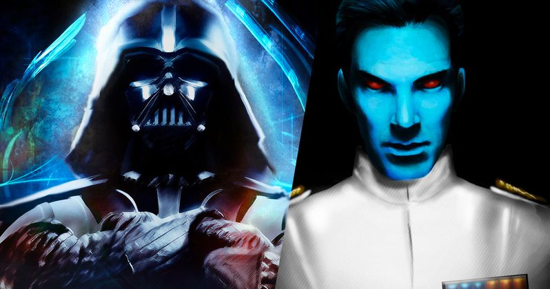 Thrawn and Darth Vader Unite in New Star Wars Novel