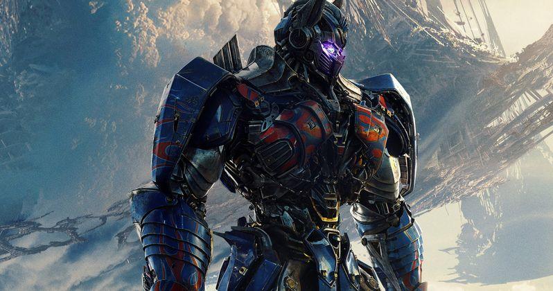 transformers 5 poster has optimus prime slaughtering bumblebee rh movieweb com