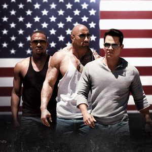 Pain and Gain Set Photo with Dwayne Johnson Cooking a Severed Hand