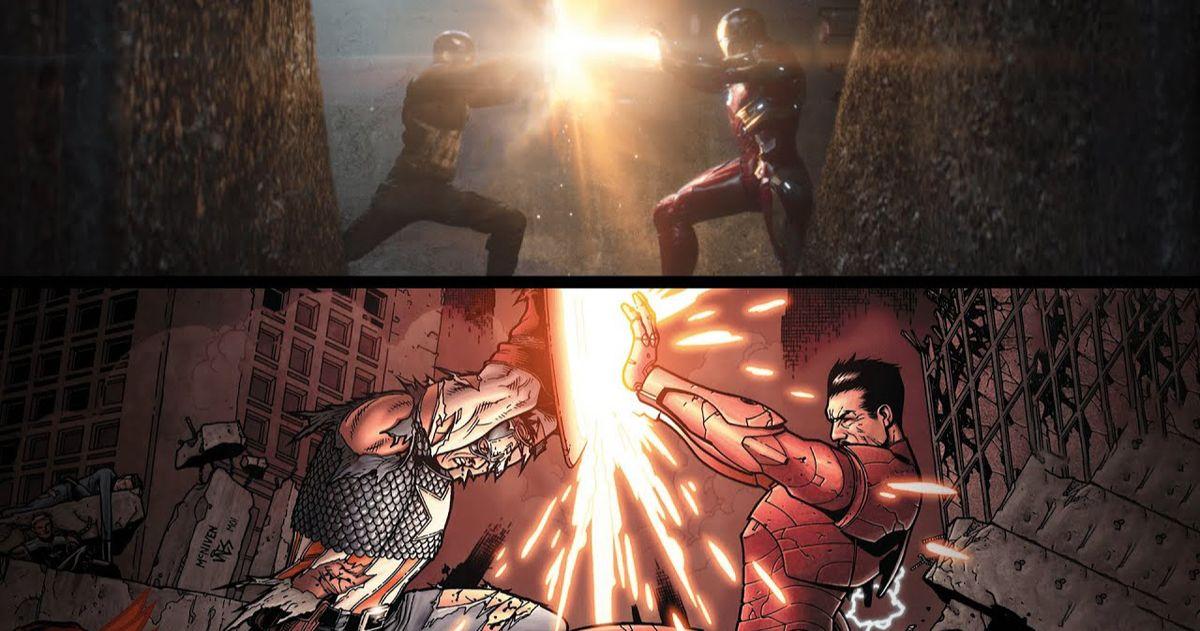 Видео с надрезом фазы 3 MCU оживляет культовые моменты комиксов Marvel