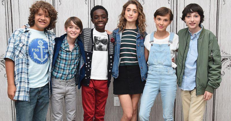 Watch the Stranger Things Kids React to Their Season 2 Trailer
