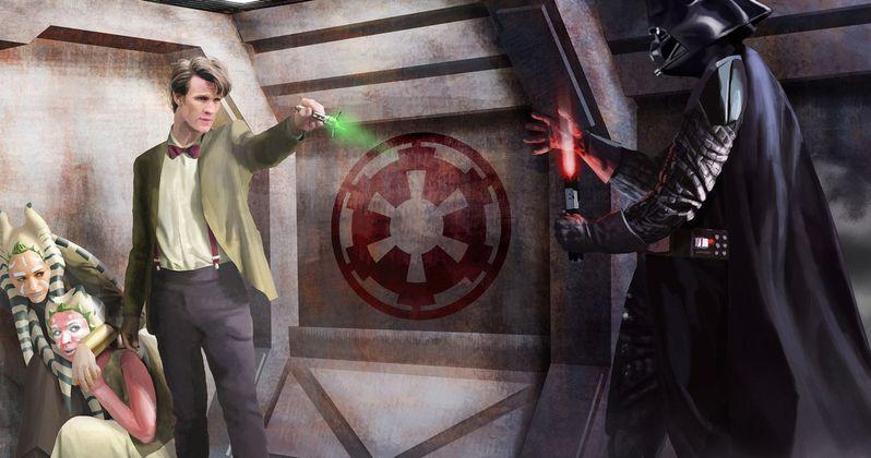 Nerd Alert: Star Wars Meets Doctor Who & Batman v Superman 60s Remix