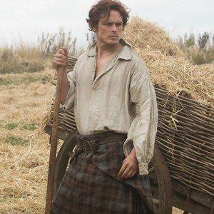 First Look at Sam Heughan as Jamie Fraser in Outlander