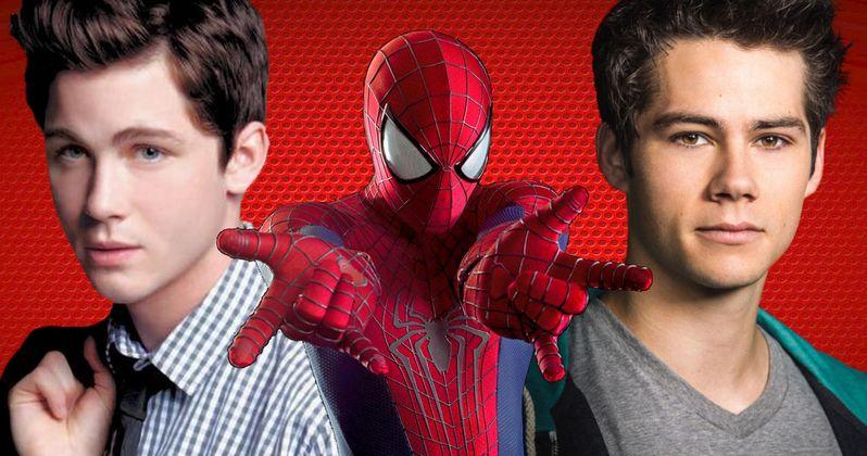 Marvel's Spider-Man Eyes Logan Lerman and Dylan O'Brien